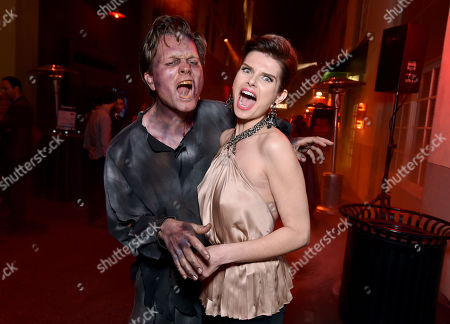 """Editorial image of World Premiere Of Crackle's """"Dead Rising Watchtower"""", Culver City, USA - 11 Mar 2015"""