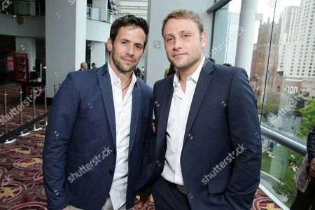 """Christian Oliver and Max Riemelt seen at the world premiere of the Netflix original series """"Sense8"""", in San Francisco, CA"""