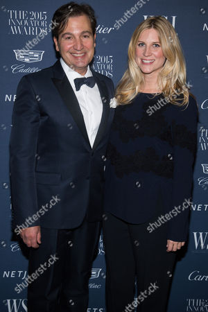 Anthony Cenname and Kristina O'Neill attend the WSJ Magazine Innovator Awards 2015 at The Museum of Modern Art, in New York