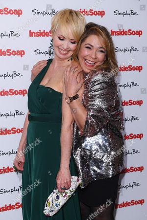 Editorial picture of Inside Soap Awards, London, UK - 06 Nov 2017