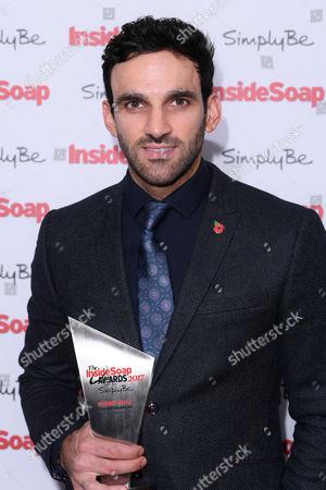 Davood Ghadami - Sexiest Male (Kush Kazemi, EastEnders)