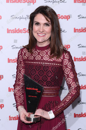 Editorial photo of Inside Soap Awards, London, UK - 06 Nov 2017