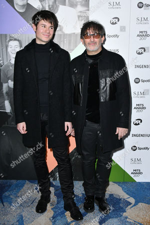 Ian Broudie and son