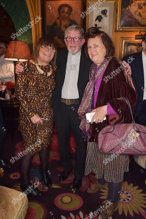 Hilary Alexander, Chris Moore and Suzy Menkes