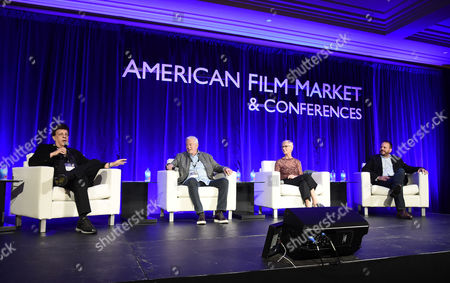 Editorial photo of American Film Market 2017 - Day 5 at the Santa Monica Pier, Los Angeles, CA, USA - 06 Nov 2017