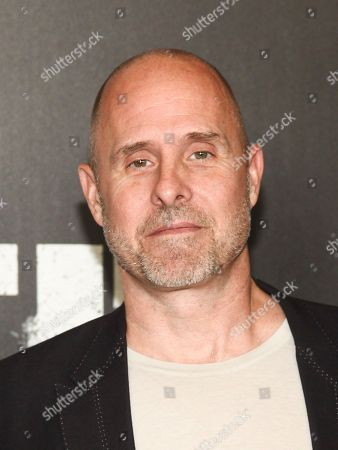 "Stock Photo of Paul Schulze attends the premiere of Netflix's ""Marvel's The Punisher"" at AMC Loews 34th Street, in New York"