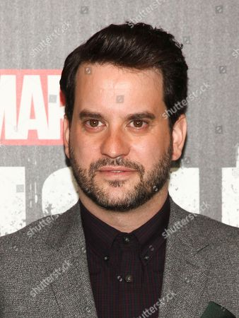 """Michael Nathanson attends the premiere of Netflix's """"Marvel's The Punisher"""" at AMC Loews 34th Street, in New York"""