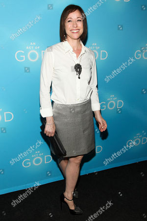 "Paige Davis attends the Broadway opening of ""An Act Of God"" at Studio 54, in New York"