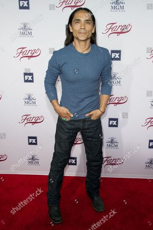 "Zahn McClarnon Angus Sampson attends ""Fargo"" FYC Event held at Paramount Studios, in Los Angeles"