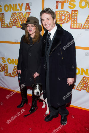 "Stockard Channing and Martin Short attend the re-opening of the Broadway show ""It's Only A Play"" on in New York"