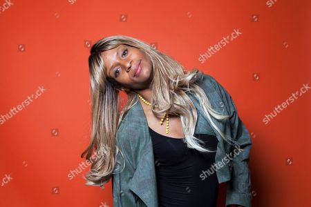 """Actor Kitana Kiki Rodriguez, poses for a portrait in promotion of the new film """"Tangerine,"""" at the Redbury Hotel in Los Angeles. The movie releases in U.S. theaters on July 10, 2015"""