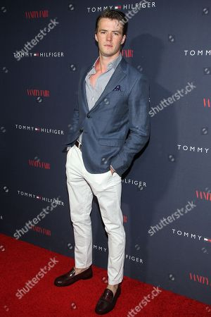 Thomas Cocquerel attends the Zooey Deschanel for Tommy Hilfiger Collection launch event at The London Hotel on in West Hollywood, California