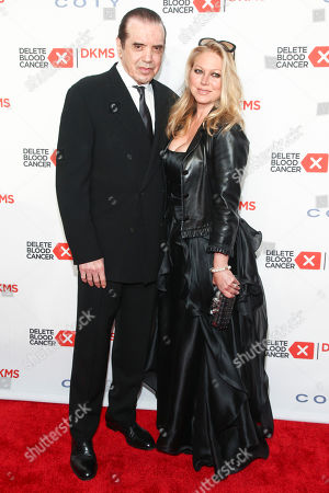 Chazz Palminteri, left, and Gianna Ranaudo, right, attend the 10th Anual Delete Blood Cancer DKMS Gala at Cipriani Wall Street, in New York