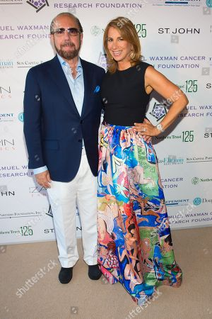 "Bobby Zarin, left, and Jill Zarin attend the 11th annual ""A Hamptons Happening"", benefiting the Samuel Waxman Cancer Research Foundation, at the Bridgehampton Estate of Maria and Kenneth Fishel, in New York"