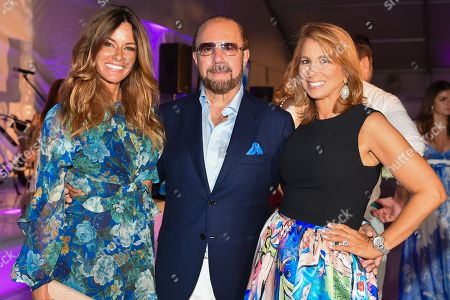 "Reality TV stars Kelly Bensimon, left, Bobby Zarin, center, and Jill Zarin attend the 11th annual ""A Hamptons Happening"", benefiting the Samuel Waxman Cancer Research Foundation, at the Bridgehampton Estate of Maria and Kenneth Fishel, in New York"