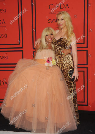 Designers Betsey Johnson, left, and Lulu Johnson attend the 2013 CFDA Fashion Awards at Alice Tully Hall on in New York