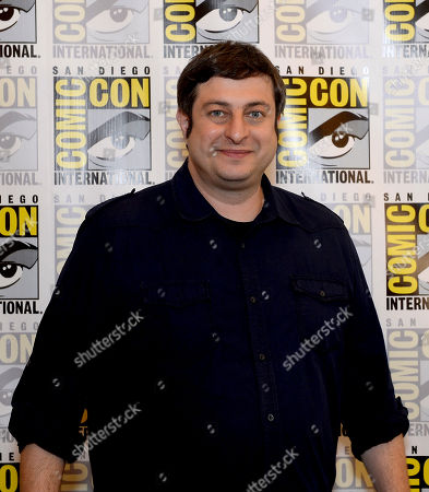 """Actor Eugene Mirman attends the FOX """"Bob's Burgers"""" press room on Day 3 of Comic-Con International on in San Diego, Calif"""