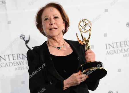 Editorial picture of 2013 International Emmy Awards Gala, New York, USA - 25 Nov 2013