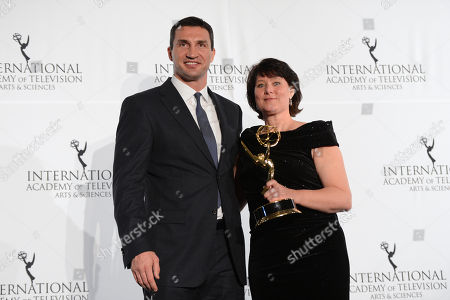 Editorial photo of 2013 International Emmy Awards Gala, New York, USA - 25 Nov 2013