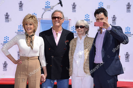 Editorial picture of 2013 TCM Classic Film Festival Honors Jane Fonda, Los Angeles, USA - 27 Apr 2013
