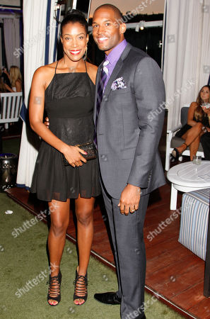 EXCLUSIVE - Shay Saint-Victor,left, and Lawrence Saint-Victor attend the 2014 Daytime Emmy Nominee Reception presented by the Television Academy at The London West Hollywood on