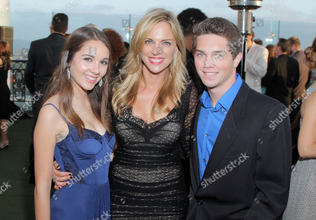 EXCLUSIVE - Haley Pullos, and from left, Kelly Sullivan and Jimmy Deshler attend the 2014 Daytime Emmy Nominee Reception presented by the Television Academy at The London West Hollywood on