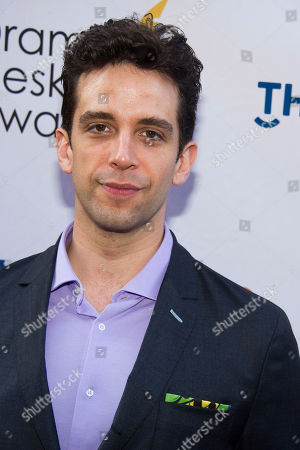 Nick Cordero attends the Drama Desk Awards on in New York