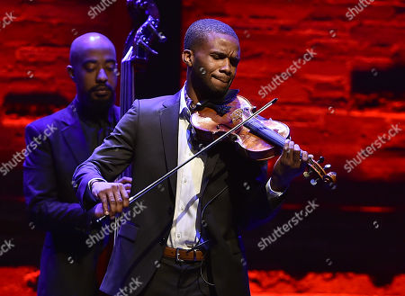 Stock Picture of Lee England Jr. performs at Backstage at the Geffen, in Los Angeles