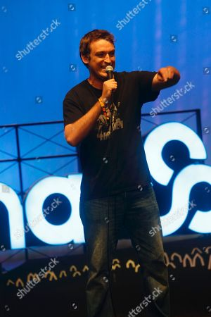 Dan Soder performs at the 2015 Bonnaroo Music and Arts Festival, in Manchester, Tennessee