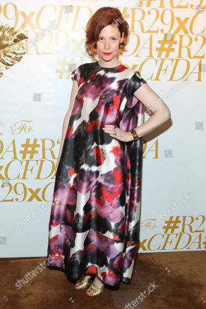 Christene Barberich attends 2015 CFDA Fashion Awards After Party co-hosted by Refinery29 at The Boom Boom Room in The Standard Hotel, in New York