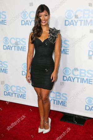 Stock Photo of Manuela Arbelaez arrives at the 2015 Daytime Emmy Awards CBS After Party at The Hollywood Athletic Club, in Los Angeles