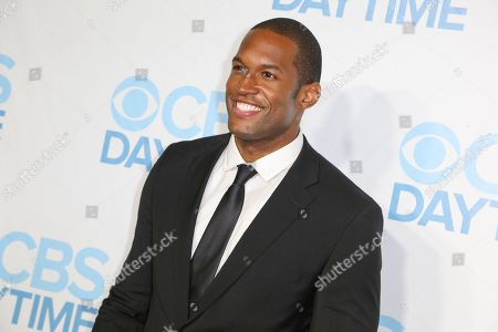 Stock Picture of Lawrence Saint-Victor arrives at the 2015 Daytime Emmy Awards CBS After Party at The Hollywood Athletic Club, in Los Angeles