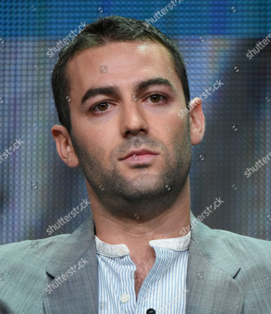 """Creator Zander Lehmann participates in the """"Casual"""" panel at the Hulu Summer TCA Tour at the Beverly Hilton Hotel, in Beverly Hills, Calif"""