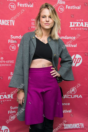 "Actress Ignacia Allamand attends the premiere of ""Knock Knock"" during the 2015 Sundance Film Festival, in Park City, Utah"