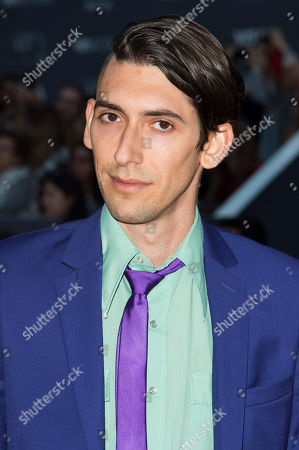 """Writer Max Landis attends a premiere for """"Mr. Right"""" on day 10 of the Toronto International Film Festival at Roy Thomson Hall, in Toronto"""