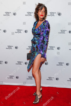 "Paz de la Huerta attends the Tribeca Film Festival world premiere of ""Bare"" at the SVA Theatre, in New York"