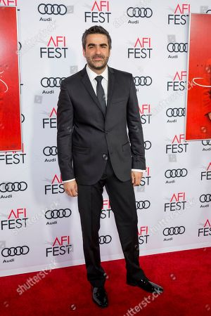 """Stock Photo of Editor Sebastian Sepulveda arrives at the 2016 AFI Festival """"Jackie"""" Centerpiece Gala at the TCL Chinese Theatre, in Los Angeles"""