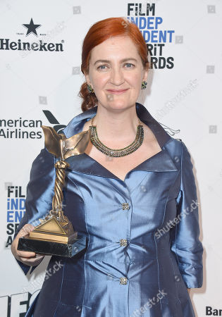 Editorial picture of 2016 Film Independent Spirit Awards - Press Room, Santa Monica, USA - 27 Feb 2016