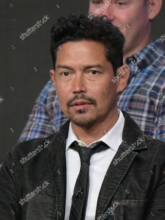 "Anthony Ruivivar participates in the ""Frequency"" panel during The CW Television Critics Association summer press tour, in Beverly Hills, Calif"