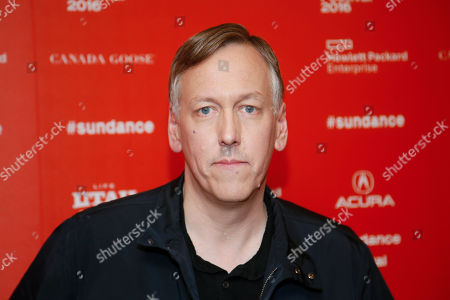 """Director, writer and executive producer Lodge Kerrigan poses at the premiere of the Starz original limited series """"The Girlfriend Experience"""" during the 2016 Sundance Film Festival, in Park City, Utah"""