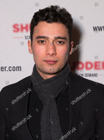 Stock Photo of Actor Arash Marandi poses at the Shudder/Midnight party during the 2016 Sundance Film Festival, in Park City, Utah