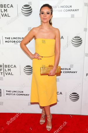 "Catalina Sandino Moreno attends the world premiere screening of ""Custody"" during the 2016 Tribeca Film Festival, at John Zuccotti Theater at BMCC Tribeca Performing Arts Center, in New York"