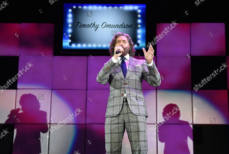 "Timothy Omundson performs at the 23rd annual ""A Night at Sardi's"" to benefit the Alzheimer's Association at the Beverly Hilton Hotel, in Beverly Hills, Calif"