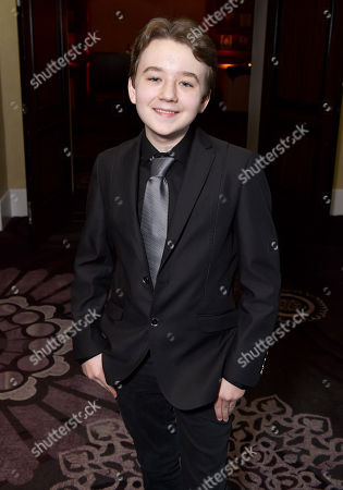 "Benjamin Stockham attends the 23rd annual ""A Night at Sardi's"" to benefit the Alzheimer's Association at the Beverly Hilton Hotel, in Beverly Hills, Calif"