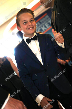 Mason Vale Cotton at the 67th Primetime Emmy Awards, at the Microsoft Theater in Los Angeles