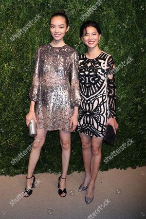Stock Photo of Fei Fei Sun and Xia Ding