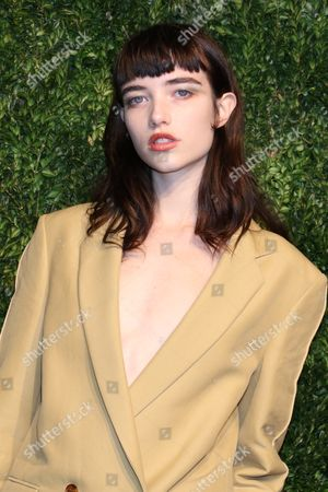 Editorial picture of CFDA Vogue Fashion Fund Gala, Arrivals, New York, USA - 06 Nov 2017