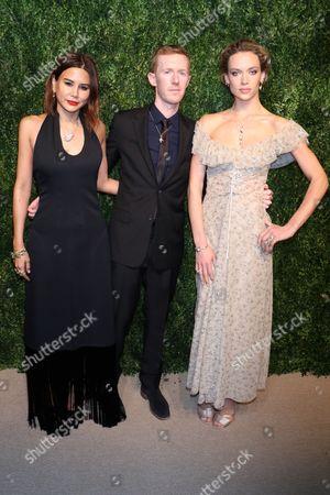 Editorial image of CFDA Vogue Fashion Fund Gala, Arrivals, New York, USA - 06 Nov 2017