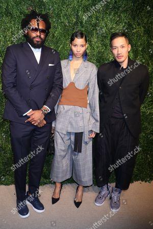 Maxwell Osborne, Lineisy Montero and Dao-yi Chow
