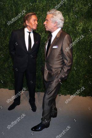 Valentino and Giancarlo Giammetti